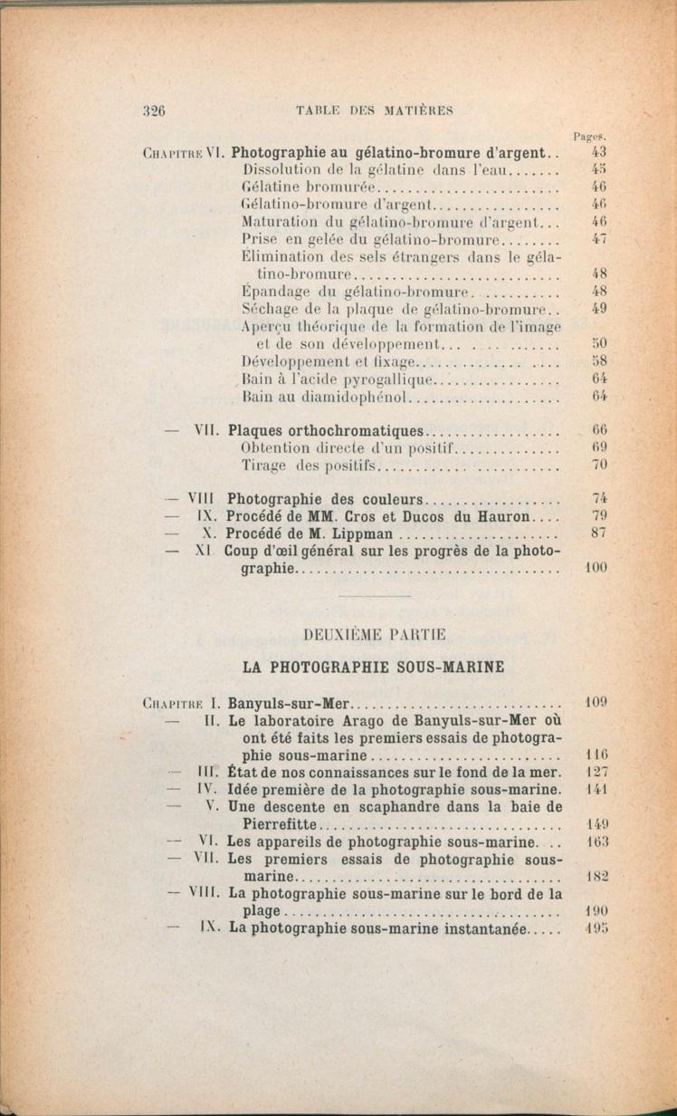 Table des matières Boutan2