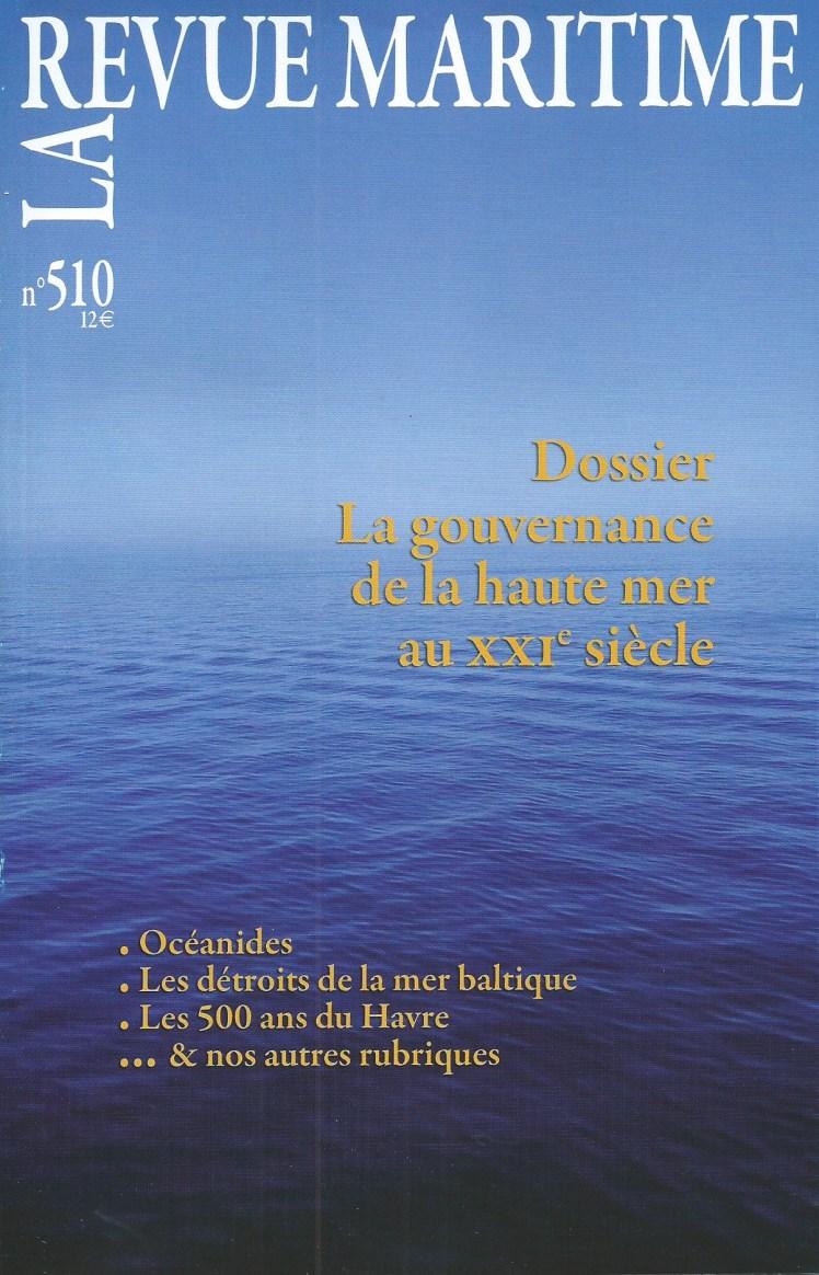 Revue Maritime N°510