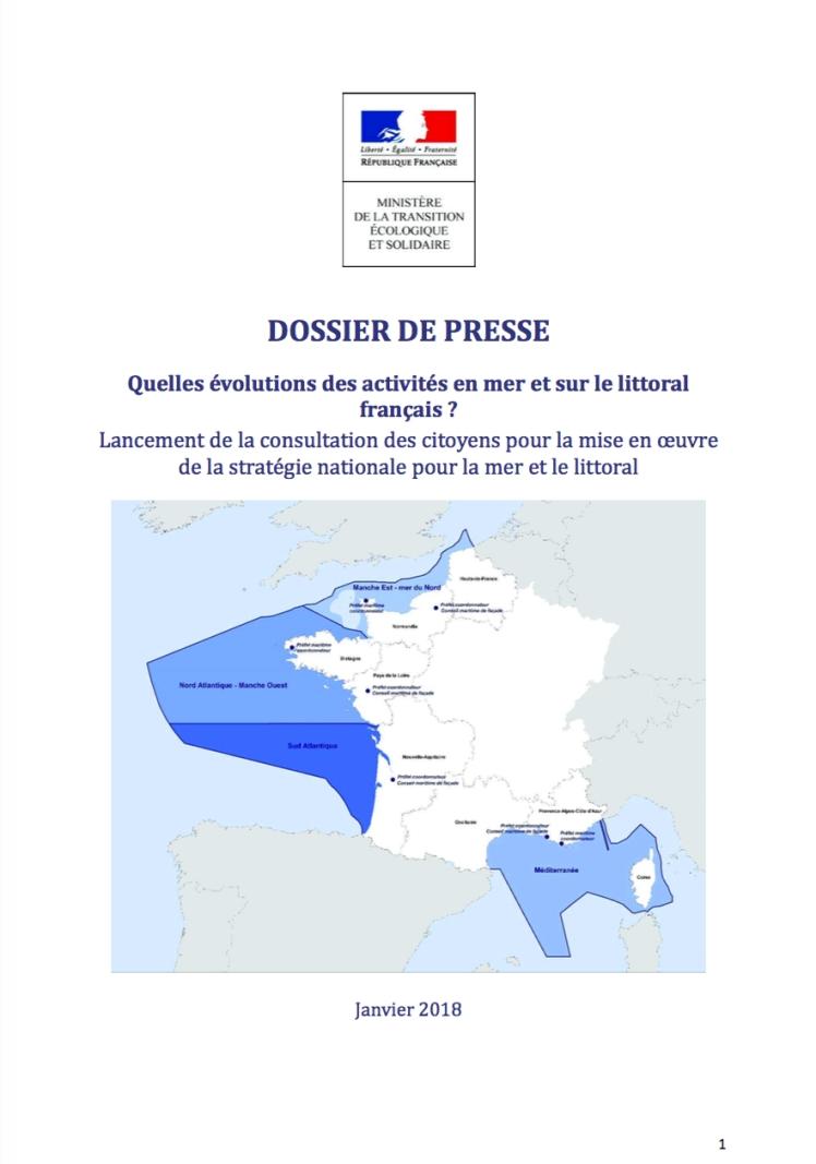 dossier de presse littoral