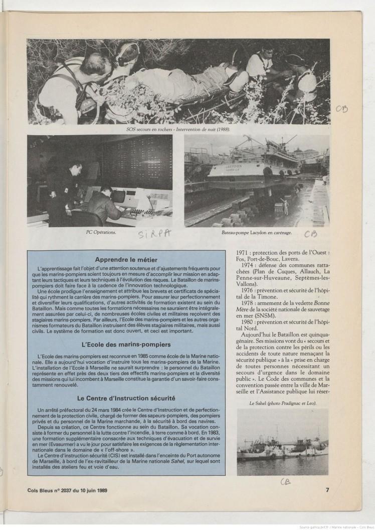 Marins Pompiers 1989 3