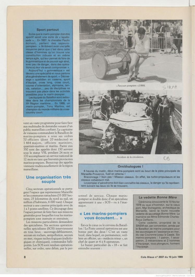 Marins Pompiers 1989 4