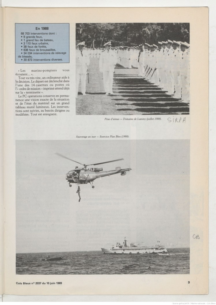 Marins Pompiers 1989 5