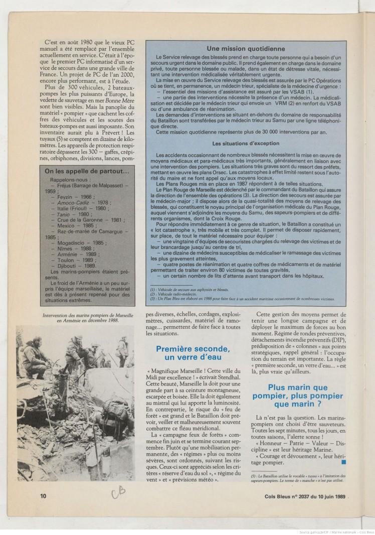 Marins Pompiers 1989 6